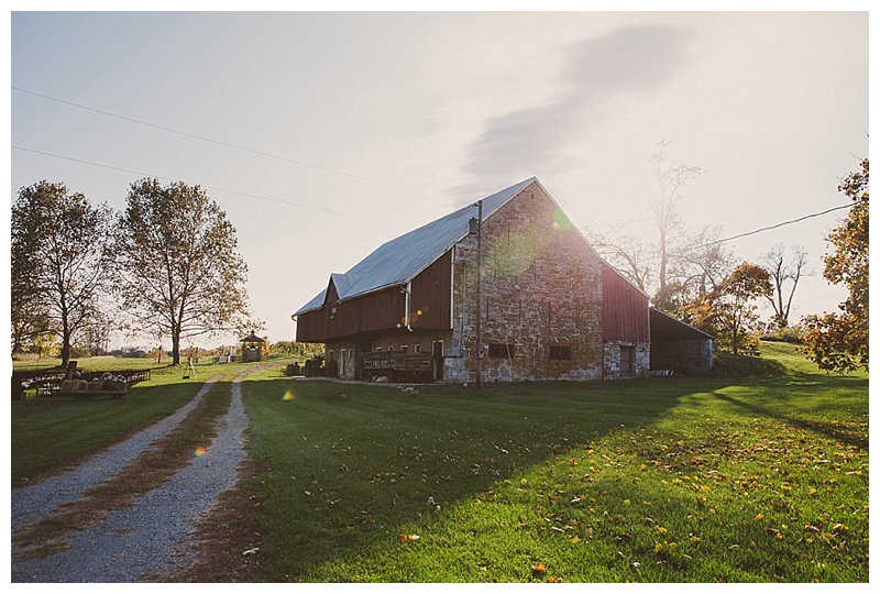 Barn at York Hill Wedding