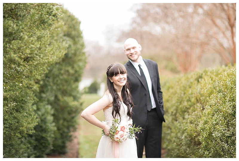 Blush Garden Wedding