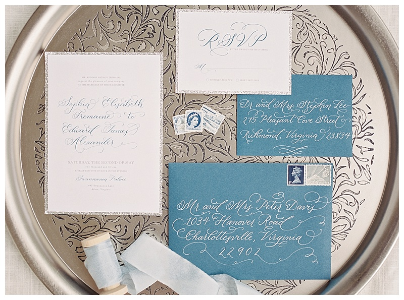 Cinderella Wedding Invitation  |  www.jesscreates.com