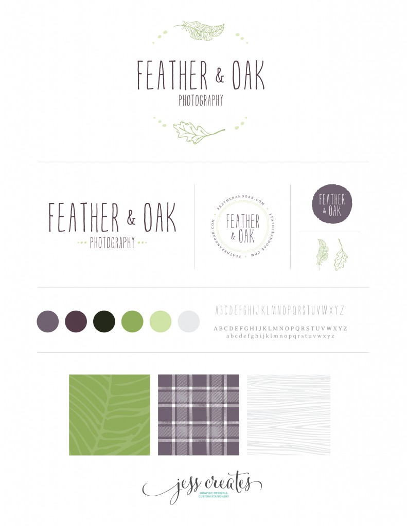 Feather & Oak Branding